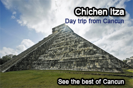 Book your Chichen Itza tour online on this website